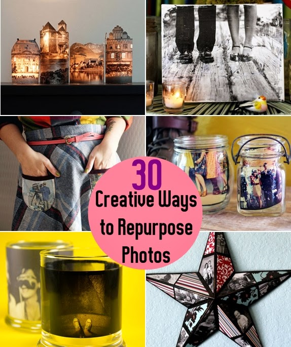 30 Creative Ways to Repurpose Photos