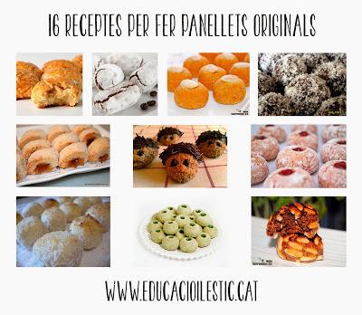http://www.educacioilestic.cat/2013/10/16-receptes-per-fer-panellets-originals.html