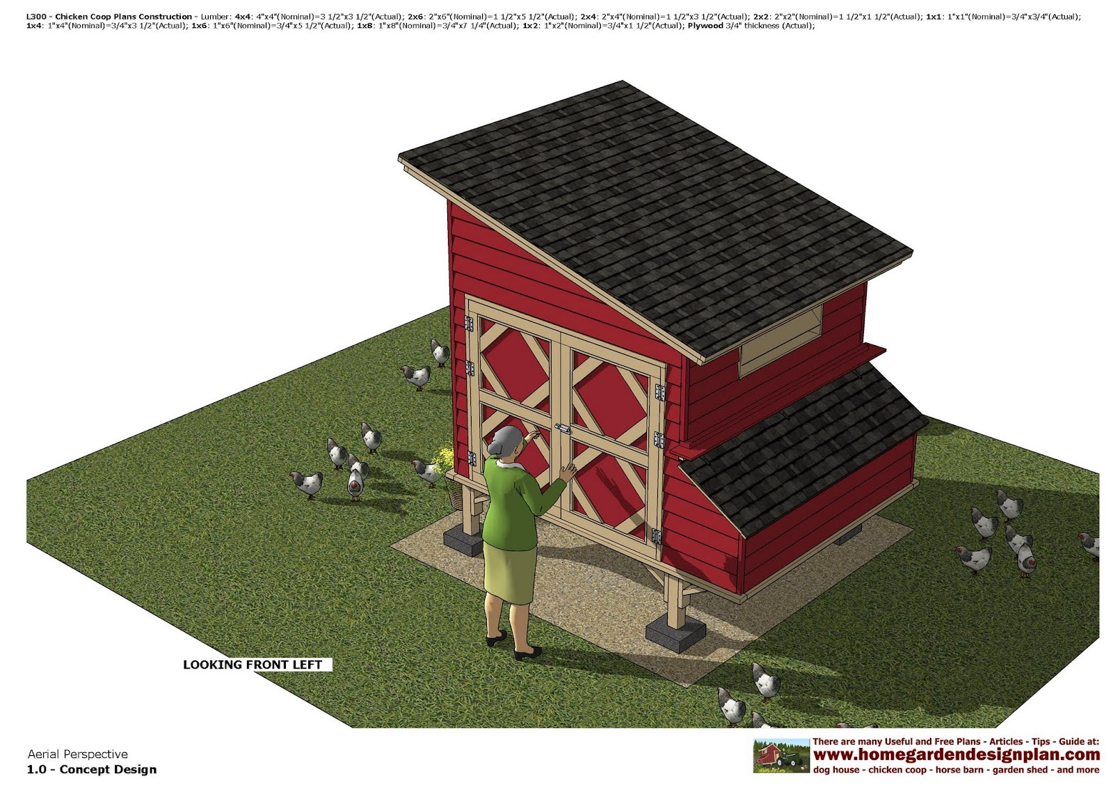 Home Garden Plans L300 Chicken Coop Plans Construction Chicken Coop Design How To Build A