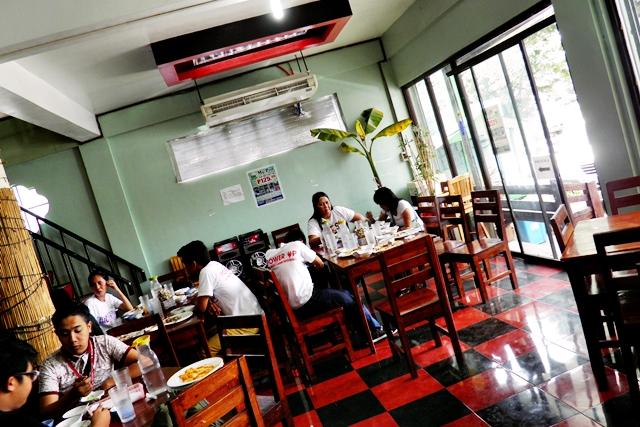 Inside Mom's Pot Buffet Restaurant in Antipolo Rizal