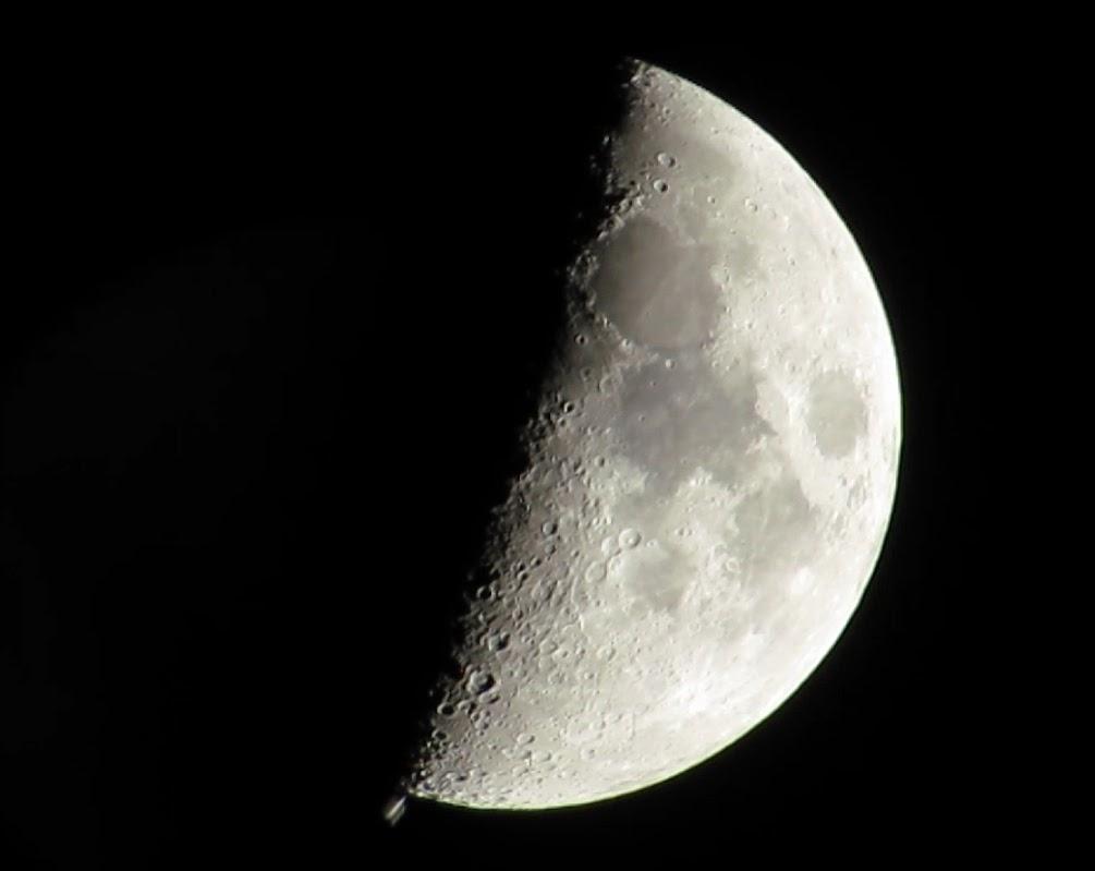 תחנת החלל והירח