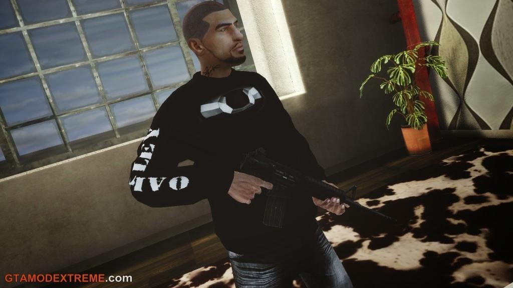 Baixar Blusa da Oakley Para GTA IV