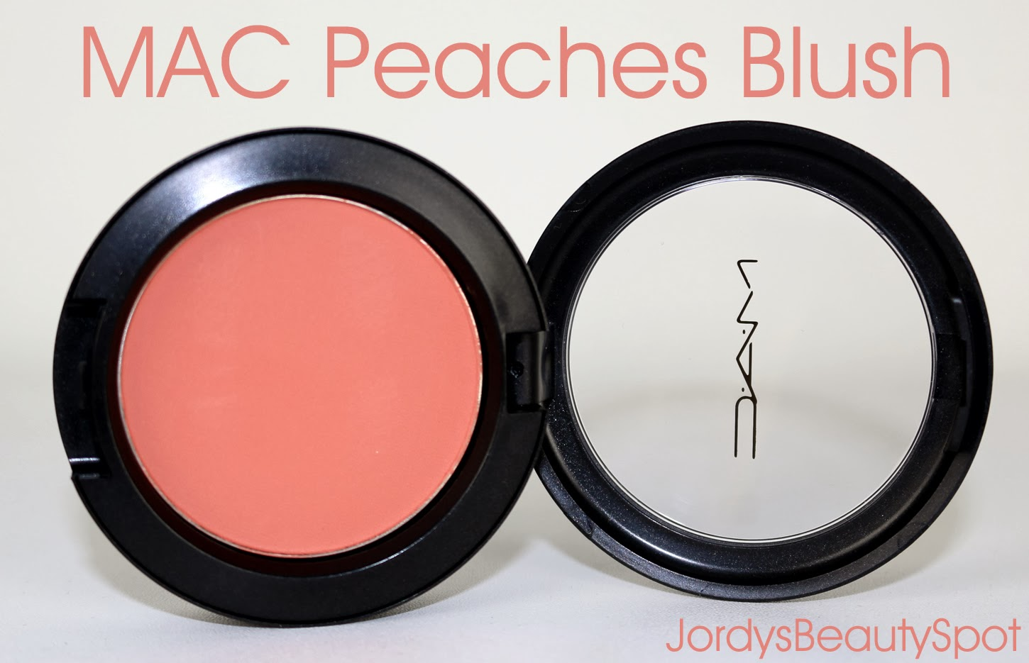 Fabuleux Jordy's Beauty Spot: REVIEW: MAC PEACHES BLUSH RZ47