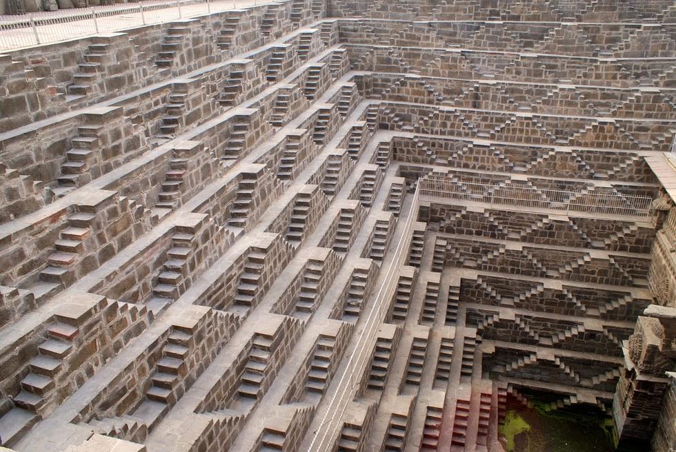 ¿Para qué se construyeron estas escaleras de piedra?