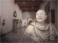 Funny photo Traian Băsescu Muzeul Palatul Cotroceni