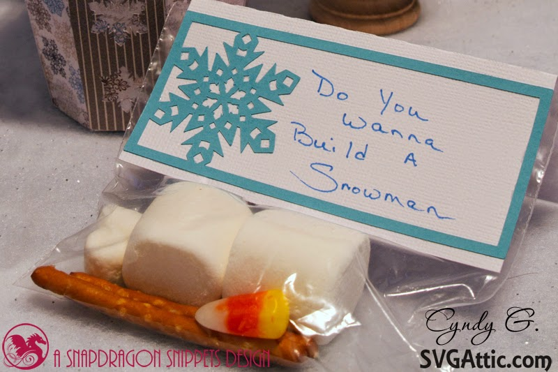 Do you want to build a snowman activity - Marshmallows, pretzel sticks, candy corn