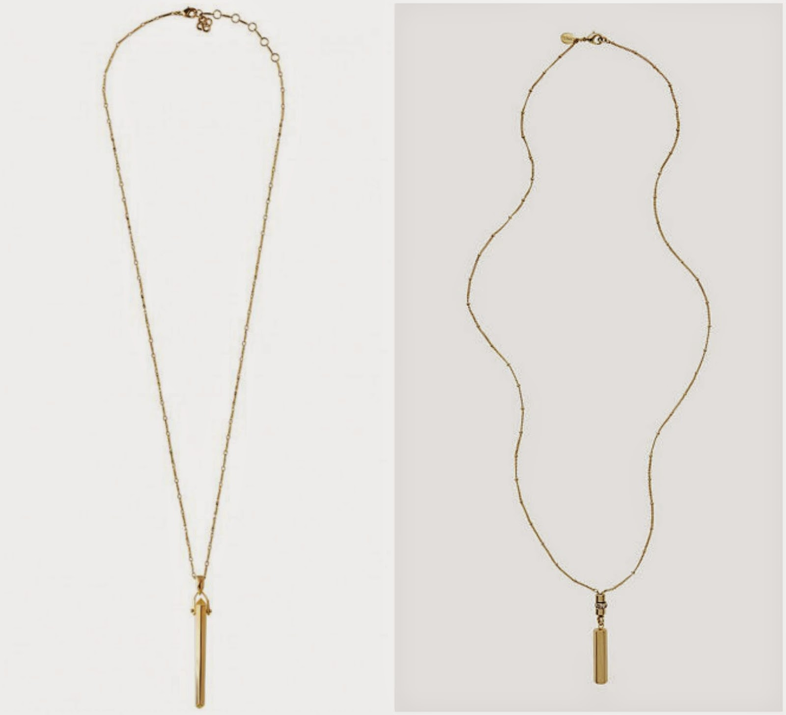 Stella & Dot Rebel necklace budget option, affordable version