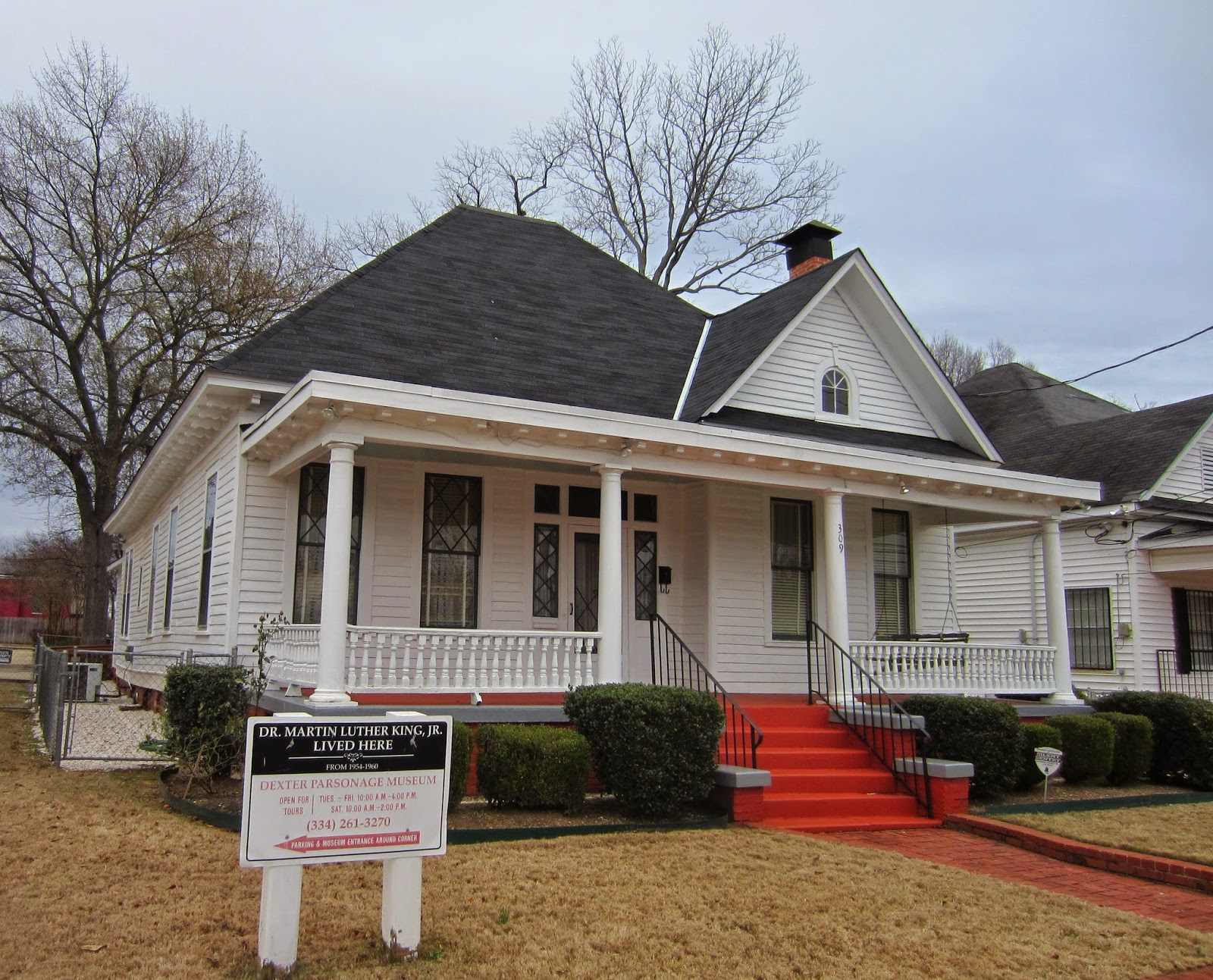 Martin Luther King Parsonage, Montgomery, AL / Souvenir Chronicles