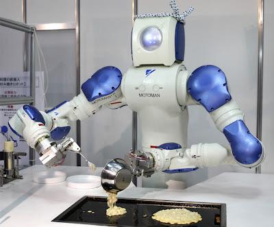 robot en la cocina