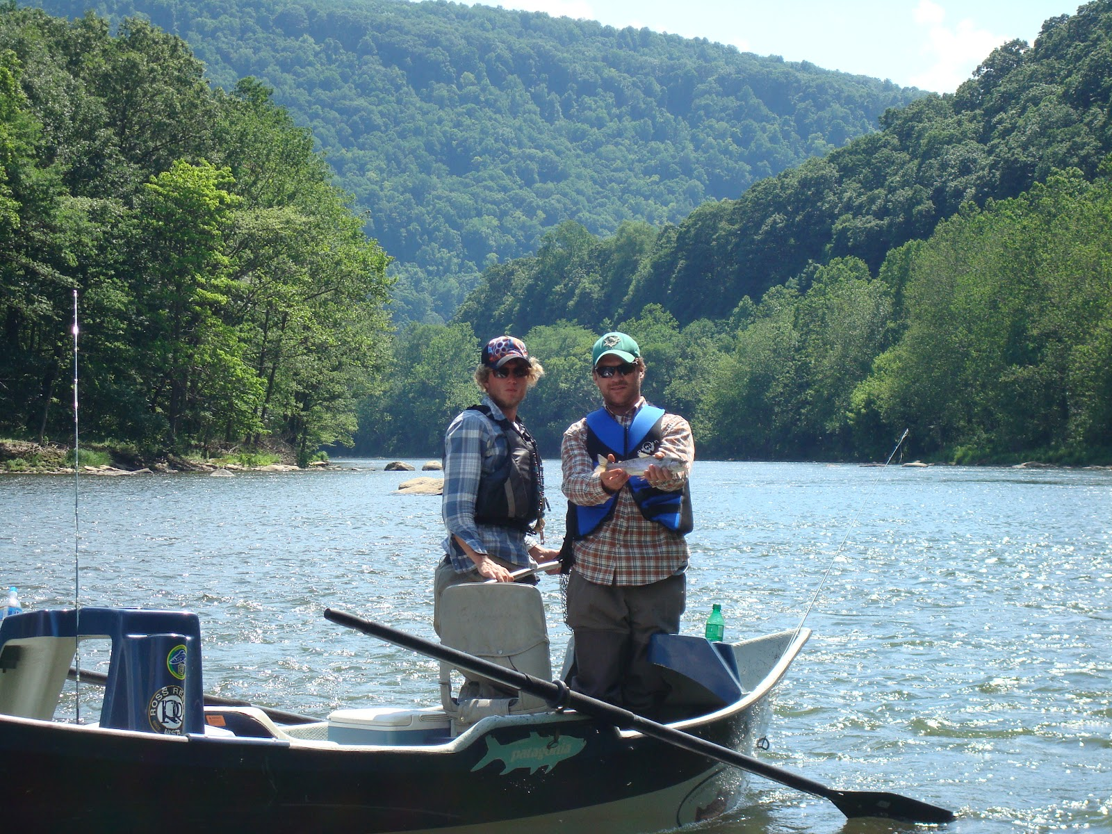 The wild life yough river float for Youghiogheny river fishing