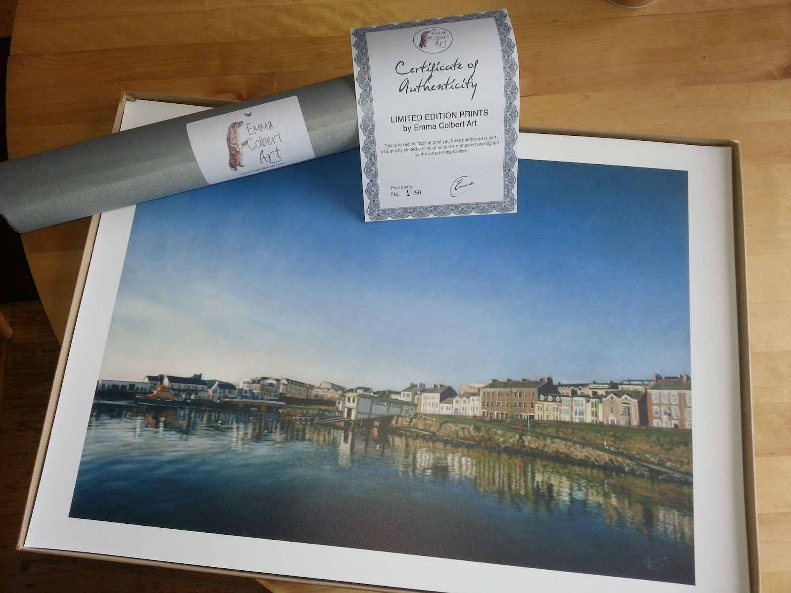 Limited edition prints emma colbert art northern ireland titled and numbered personally by me and can be posted worldwide they will arrive rolled with a certificate of authenticity and ready for framing jeuxipadfo Choice Image