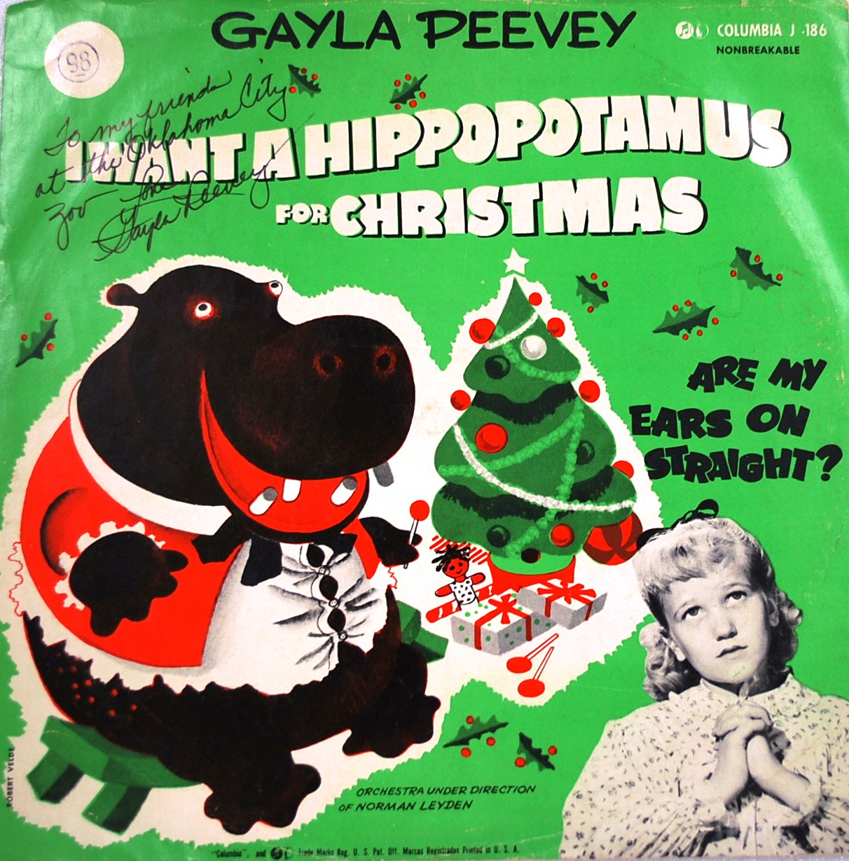 I Want a Hippopotamus for Christmas | Festive!