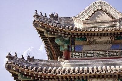 mengenal gaya arsitektur (11): dekorasi atap bangunan cina