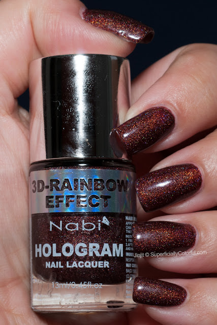 Nabi Hologram Black Berry