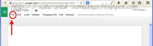 cara menggunakan google formulir untuk membuat contact form-2