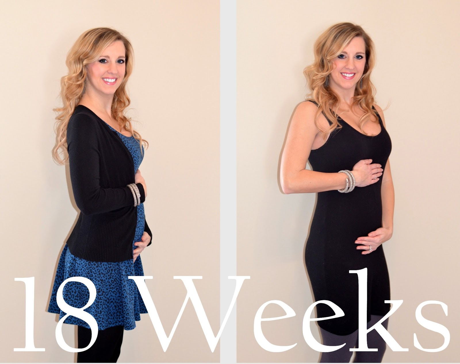 18 weeks pregnant - baby bump picture
