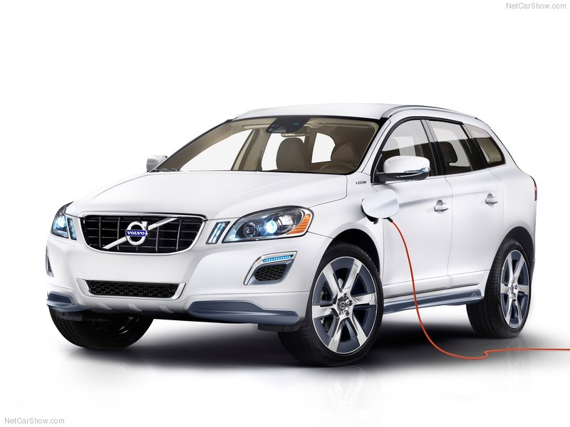 Gambar Volvo XC60 Hybrid Concept 2012