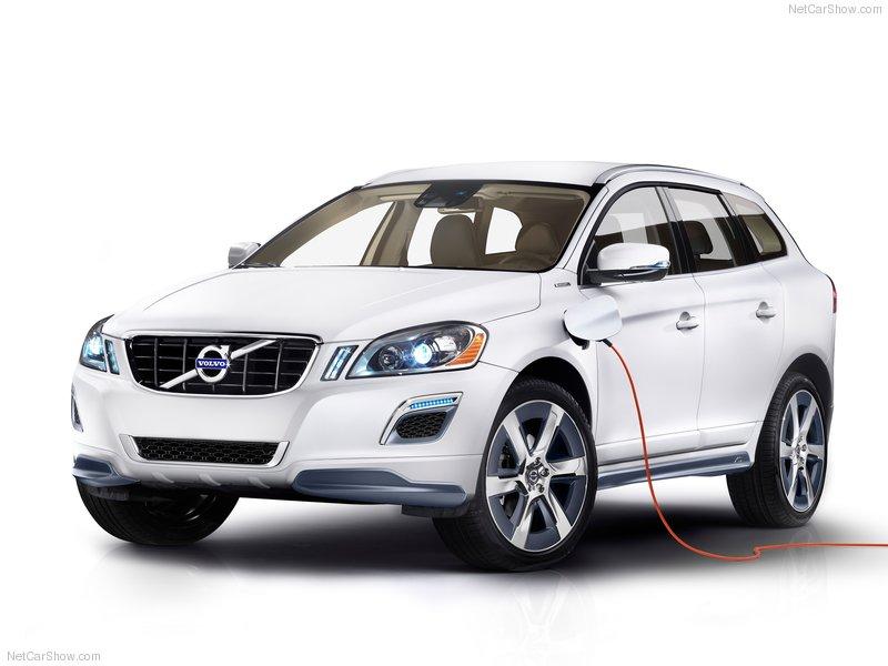 Gambar Volvo XC60 Hybrid Concept 2012