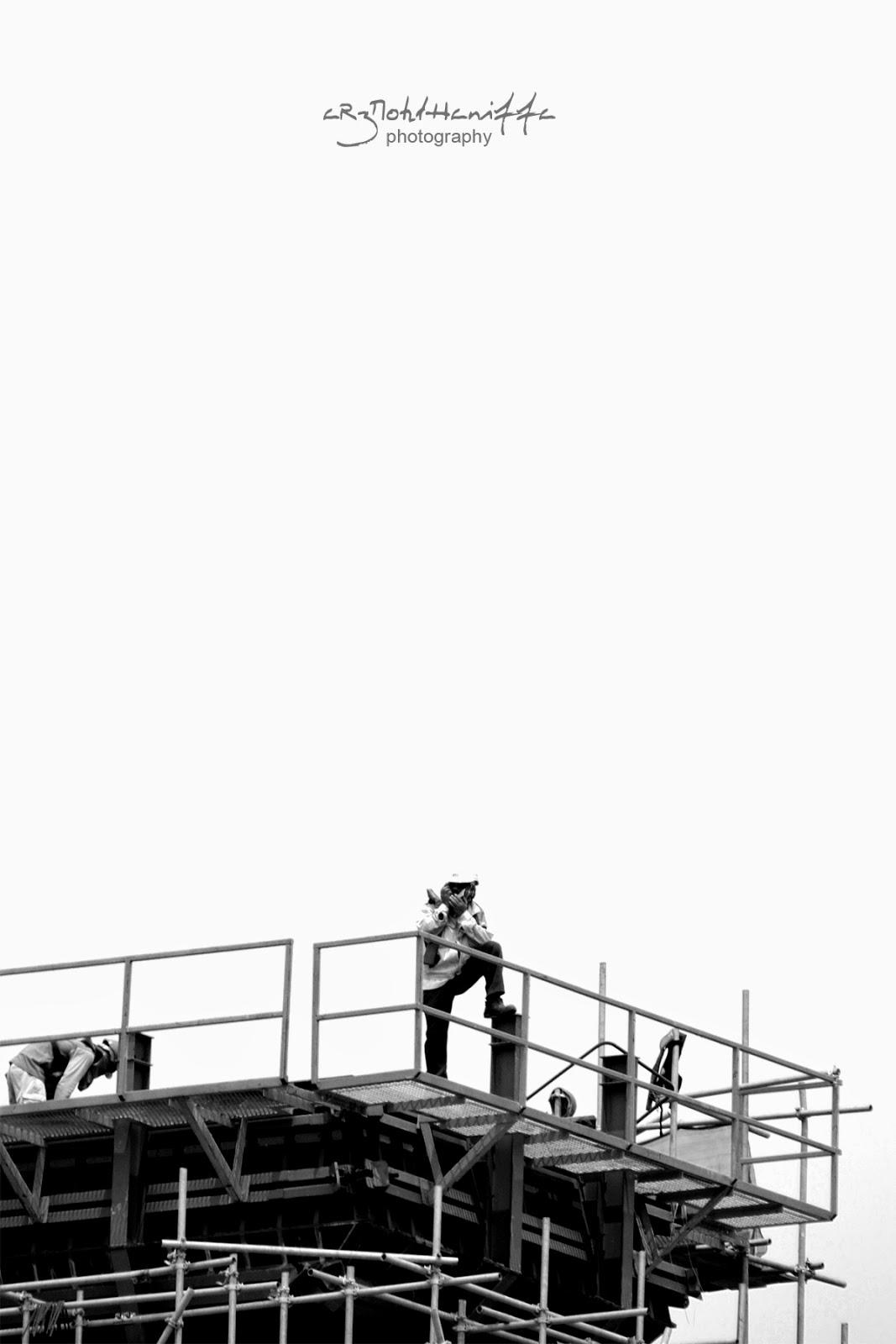Wordless Wednesday, Jambatan Kedua dalam pembinaan, arzmoha.com, gambar cantik