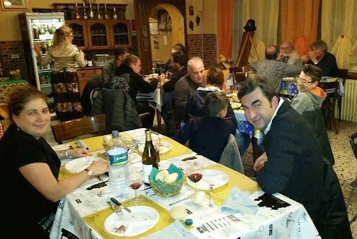 Goulasch food meeting ... Gallo friends