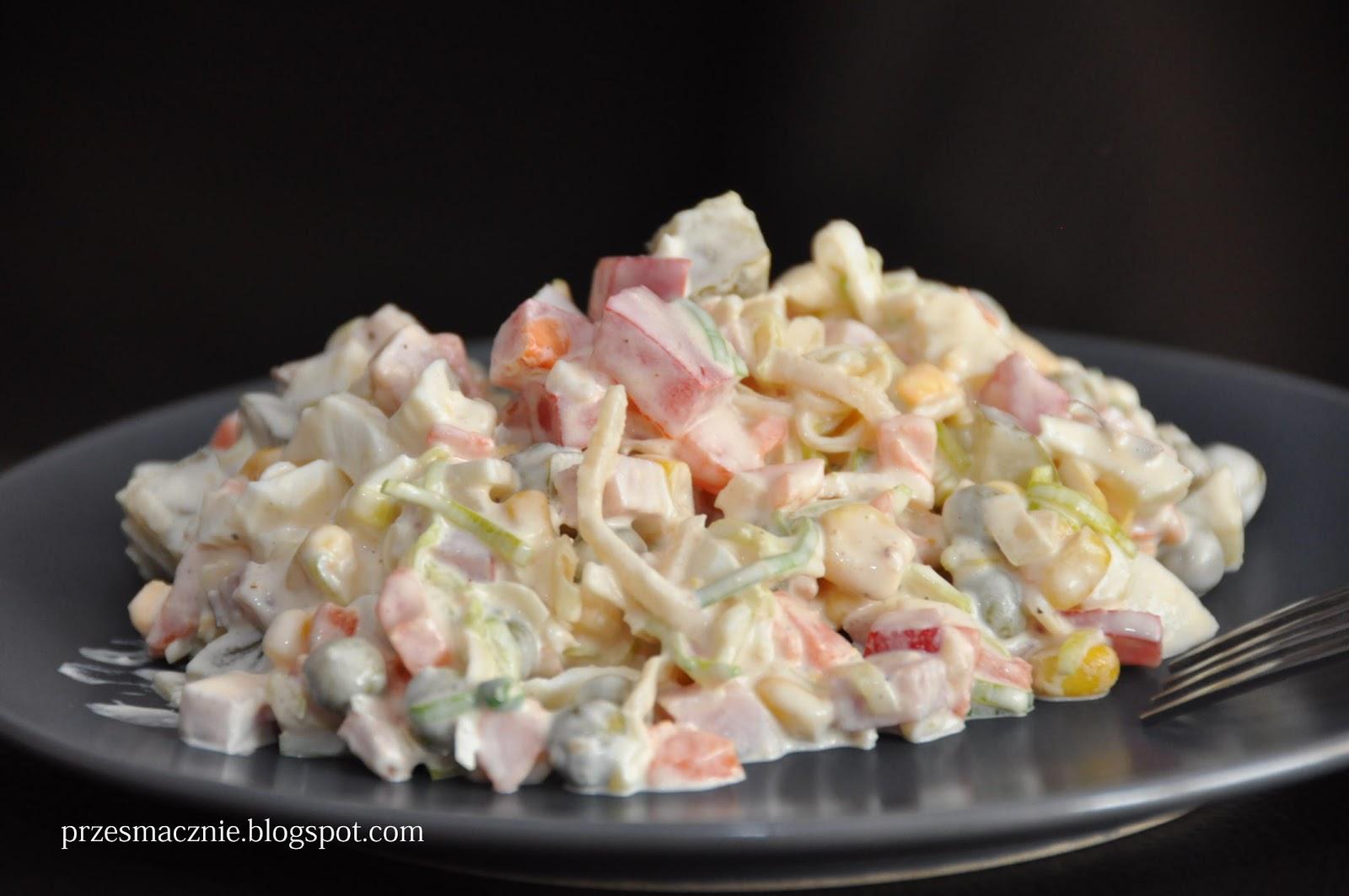 Przesmacznie Salatka Z Selerem Konserwowym