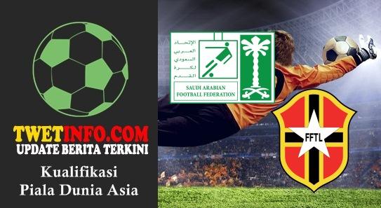 Prediksi Saudi Arabia vs Timor Leste, Piala Dunia Asia 04-09-2015
