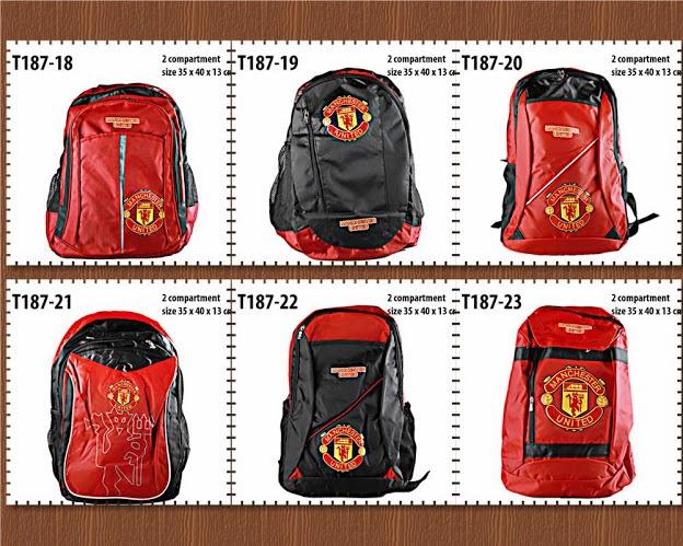 harga termurah, harga grosir, tas ransel atau tas backpack fc, football club, anna gallery, di tangerang