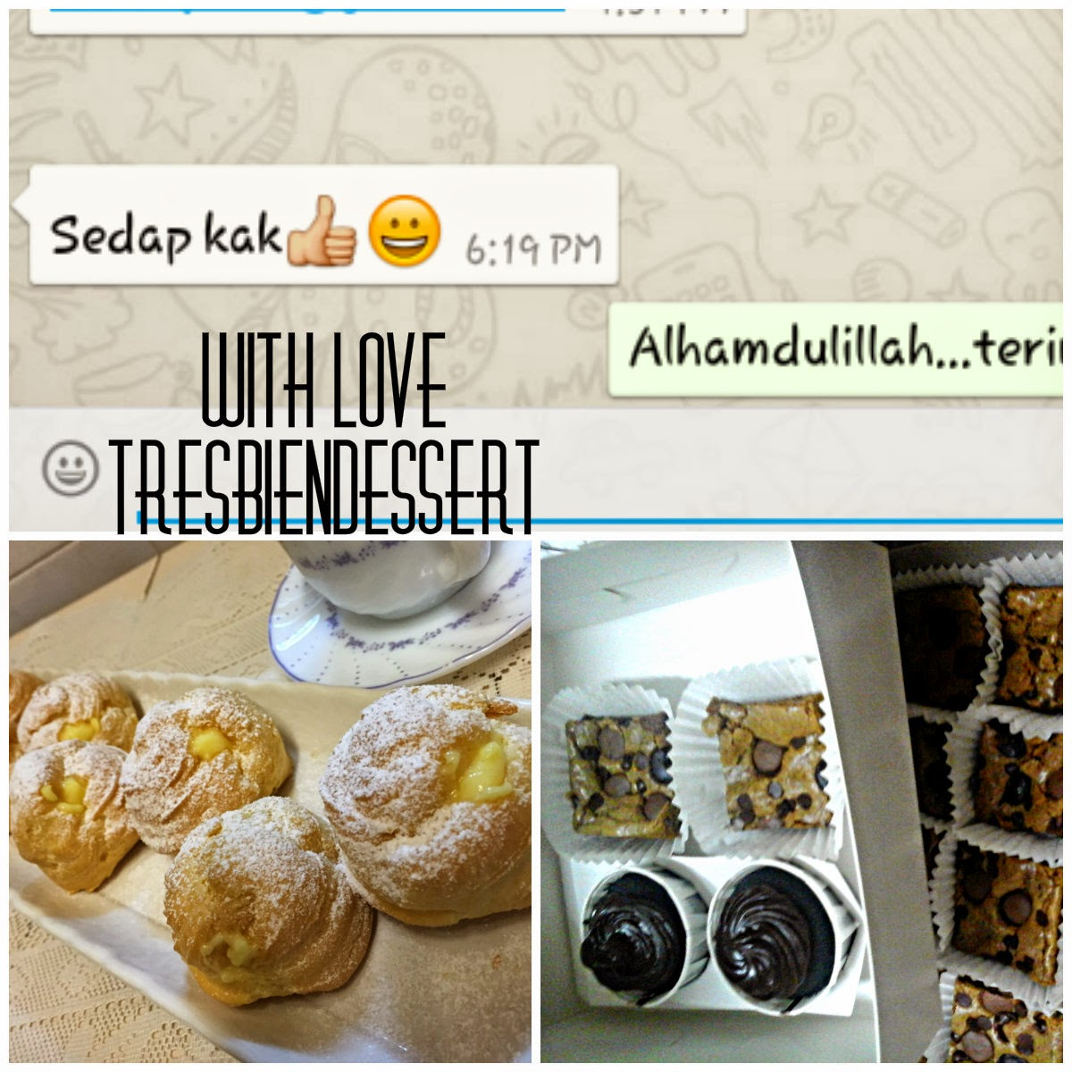 To order Cream puff, Choux Ring, Pate A Choux, Creme Patissiere, Petit Choux, Profiterole, Paris Brest, Choux a la Creme, Croquembouche, Petit Fur, Religieuse, Gateau Saint Honore, contact Hamidah at 016-9150772, Area Bukit Jalil, IOI Mall, Puchong, Bandar Kinrara