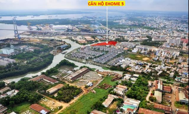 Vị trí căn hộ Ehome 5