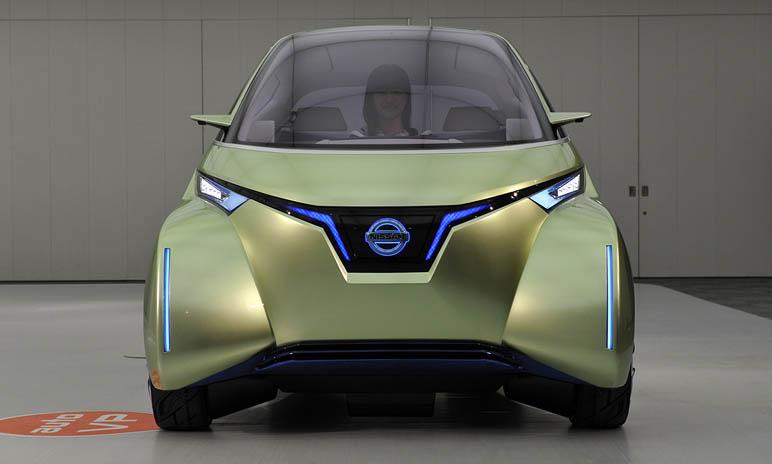 Nissan Pivo Interior