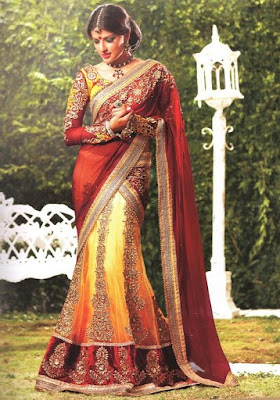 Party Wear Sarees Collection 2013
