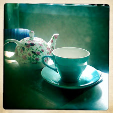 A cup of tea on a rainy day...