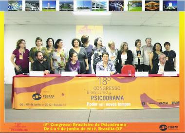 18°Congresso Brasileiro de Psicodrama - Brasília, 2012  Foto: Abertura do Congresso