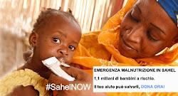 I bambini del Sahel rischiano la vita