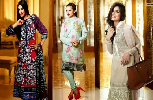 Luxury Fall Eid Dress 2014