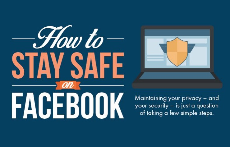 How To Maintain Your Security and Privacy On Facebook - #SocialMedia #infographic