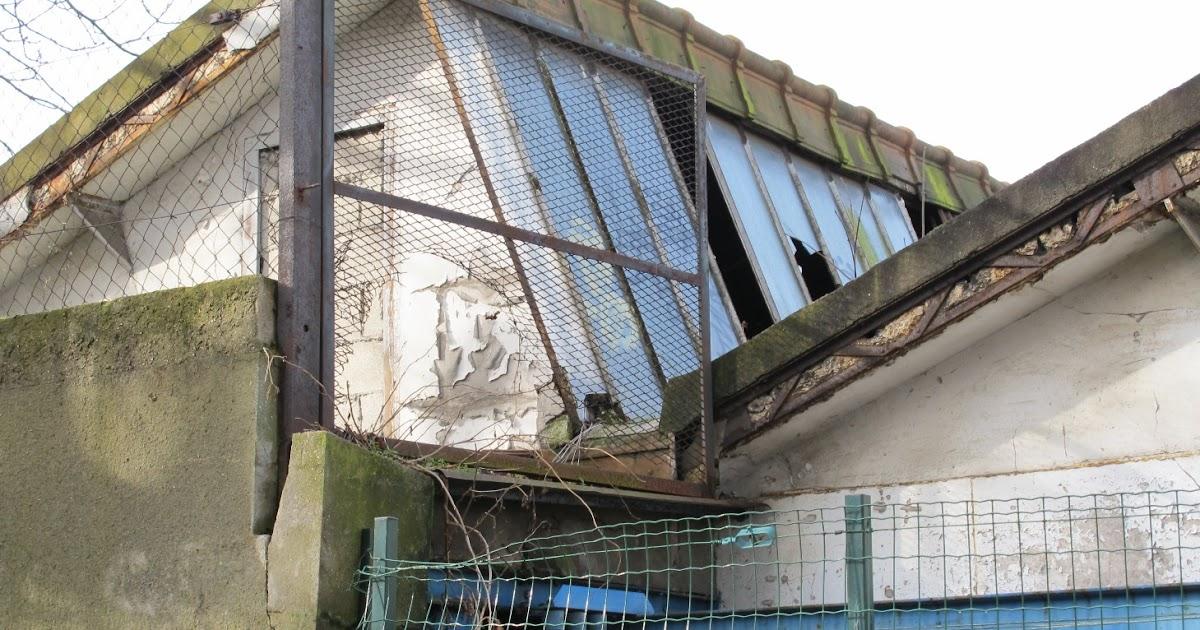 Terrain Gaupillat, Meudon: Toiture à redents (sheds)