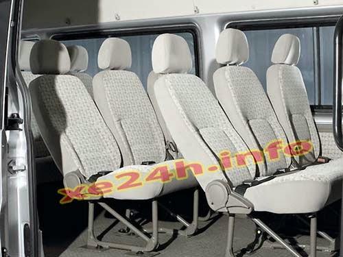 nội thất xe chuyên phục vụ học sinh