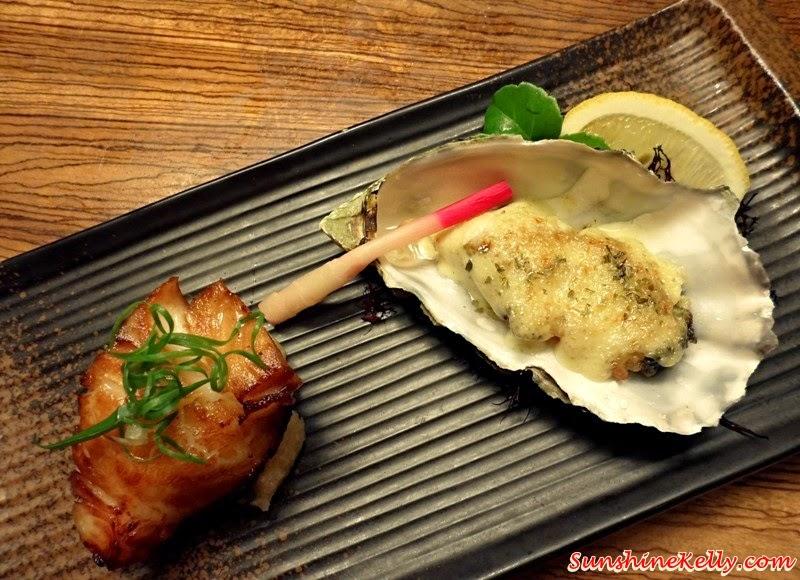 Genji Japanese Restaurant, Hilton Petaling Jaya, Osaka Tokyo Menu, Japanese Food, Gindara Teriyaki, Kaki Chilli Mayo