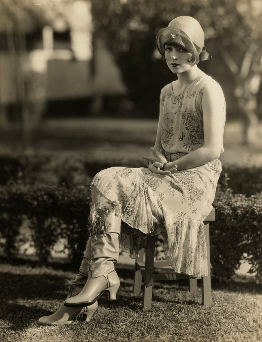 Clara Bow For Kid Boots