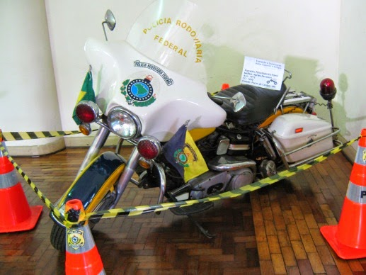 Brazilian Police Motorcycle - Moto Policial