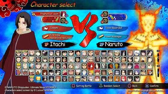 Naruto Ultimate Ninja Storn 3 Full Burst