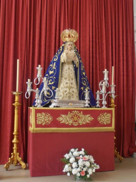 Triduo Virgen del Pilar en su Mayor Dolor 2014