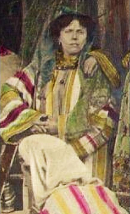 Alice Guy dirige La vie du Christ 1906 in Be Natural autobiopic