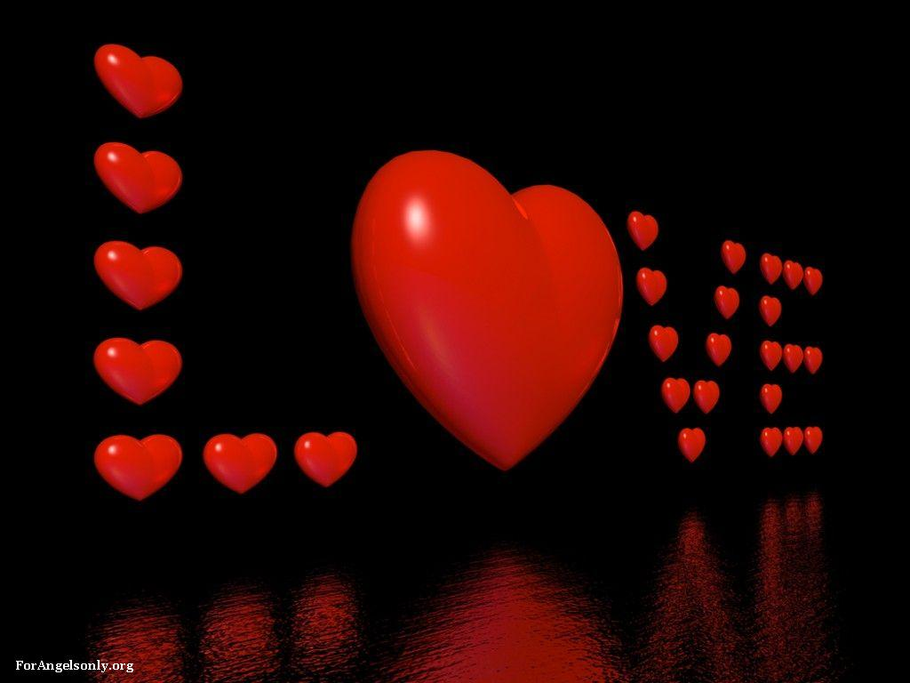 Love Wallpaper cool : Miracle Of Love: Love Heart Wallpaper