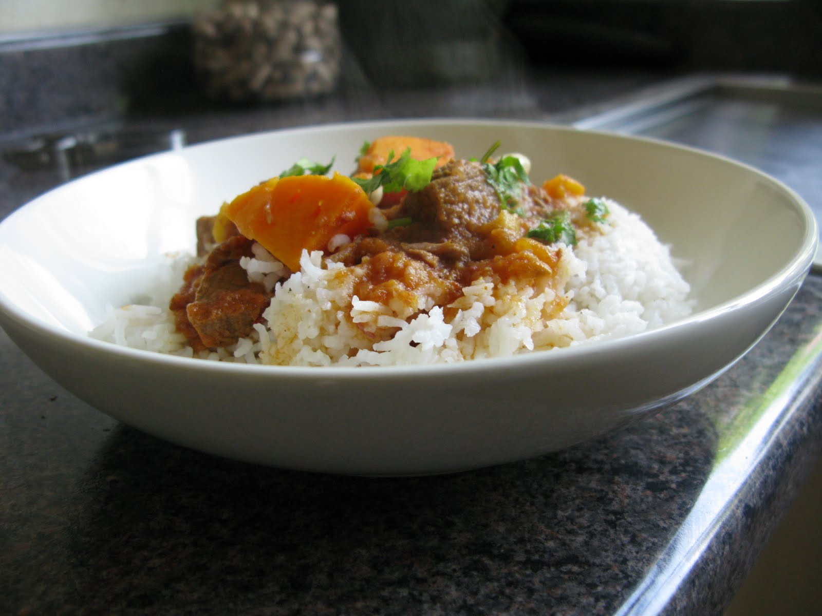 Chachis kitchen veal and sweet potato tagine veal and sweet potato tagine i have adapted this recipe from the bbc food forumfinder Choice Image