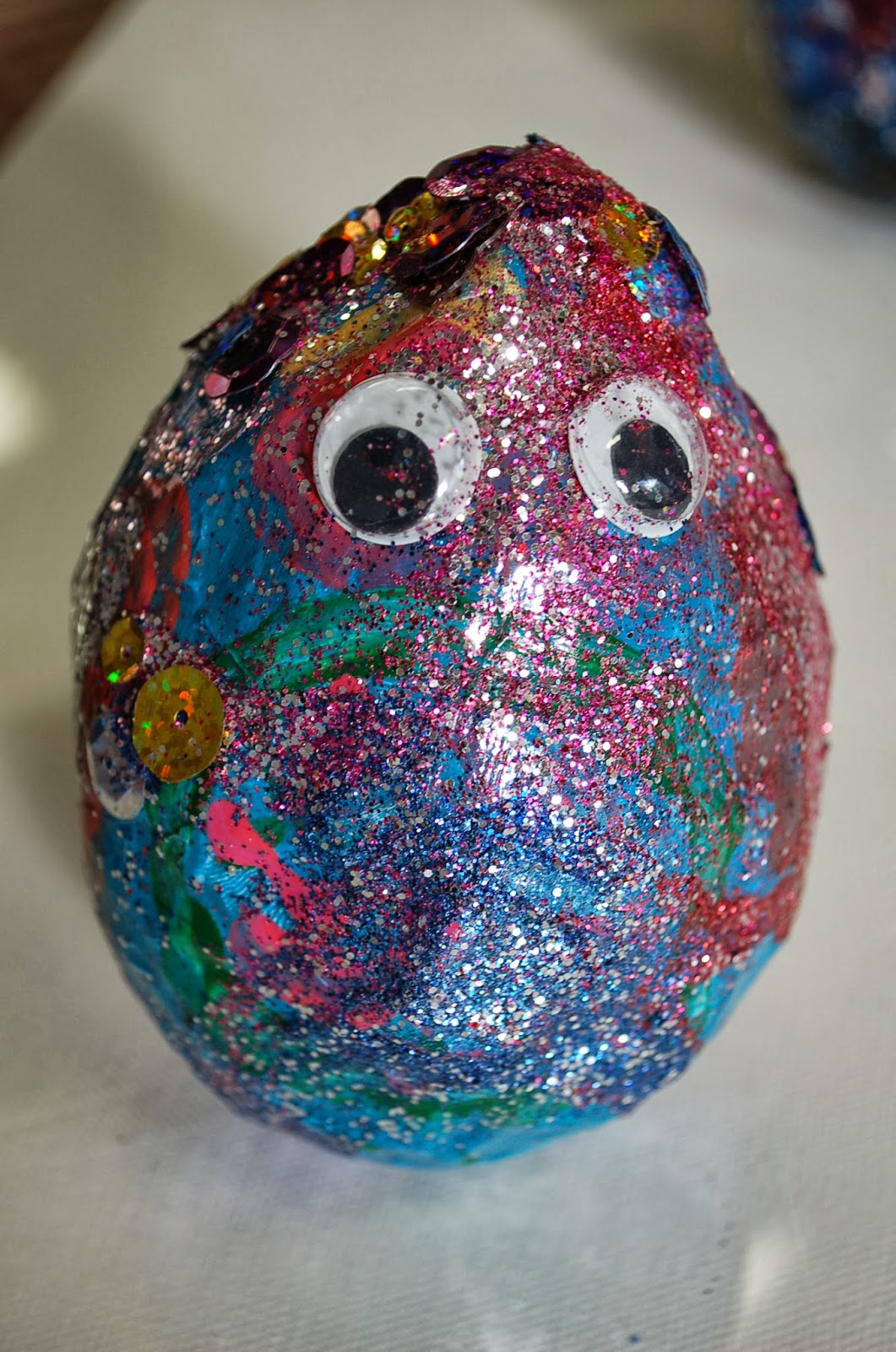 Sunnyside art house paper m ch owls part 2 for Things to make with paper mache