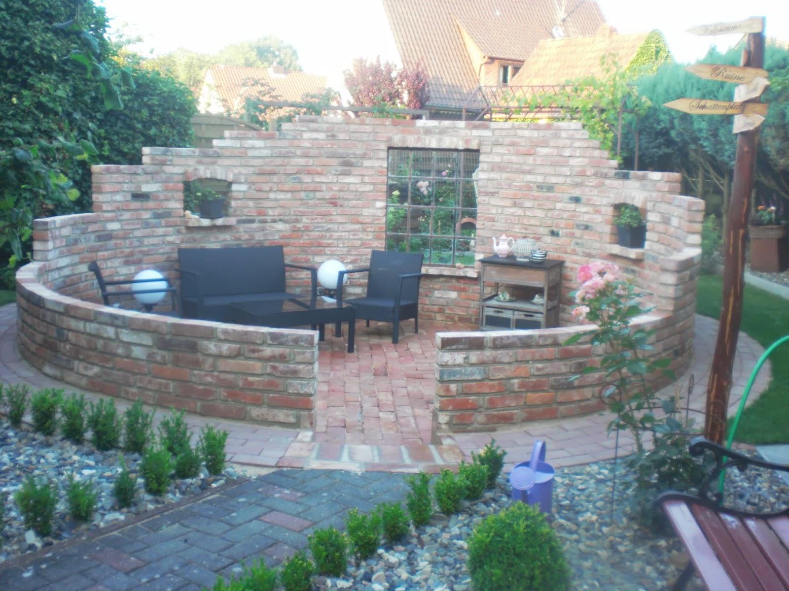 Genial Garten Wand Gemauert Lavendel News