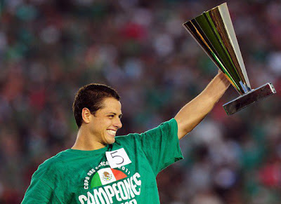 Javier Hernandez Golden Boot Concacaf Gold Cup