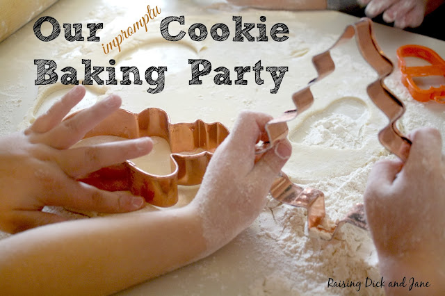 Cookie Baking Party #HolidayReady #shop #cbias